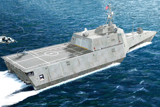 Trumpter 04548 USS Independence LCS-2 1:350