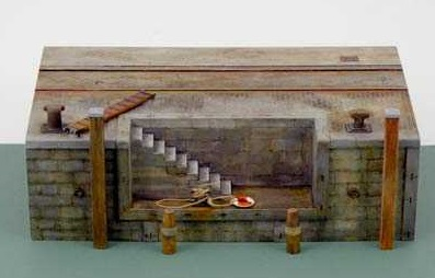 Italeri 5615 Dock with stairs 1:35