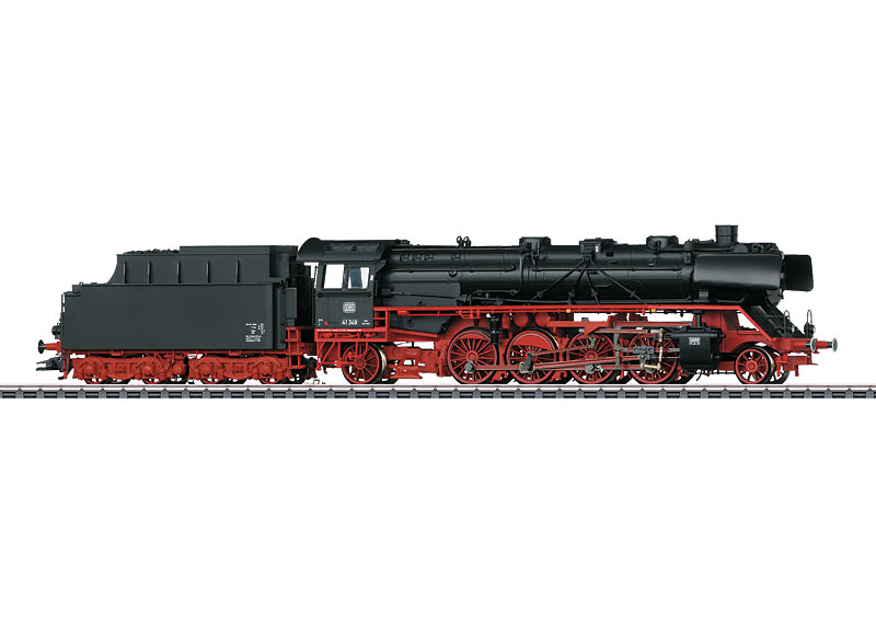 Märklin H0 37929 BR 41 349 höyryveturi - steam locomotive