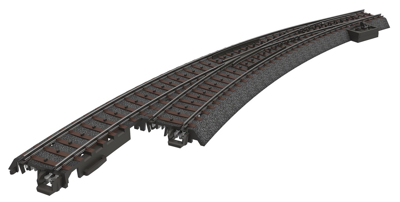 Märklin 24771 H0 Kaarivaihde vasen R3 - Right Curved Turnout