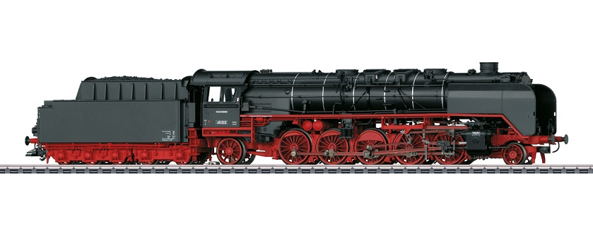 Märklin H0 37454 BR 45 höyryveturi - steam locomotive