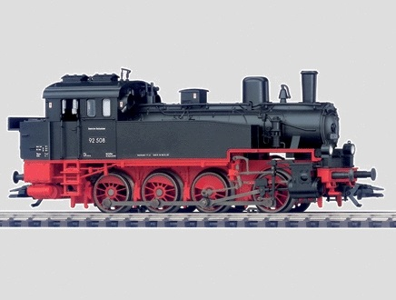 Märklin H0 34133 BR 92.5-10 höyryveturi - steam locomotive