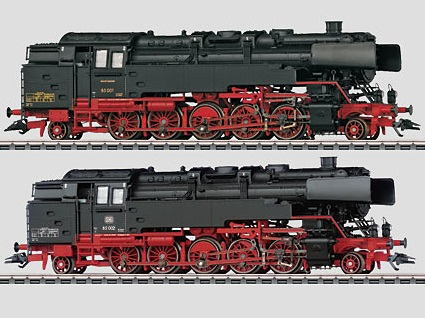 Märklin H0 37098 BR 85 001 + 002 höyryveturit - steam locomotives