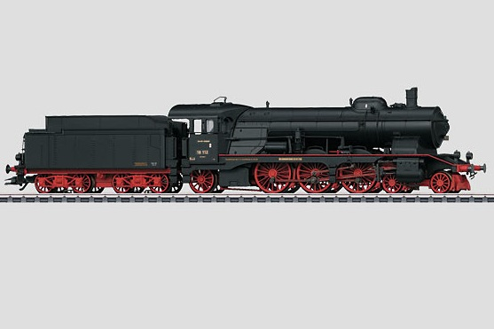 Märklin H0 37116 BR 18.1 höyryveturi - steam locomotive