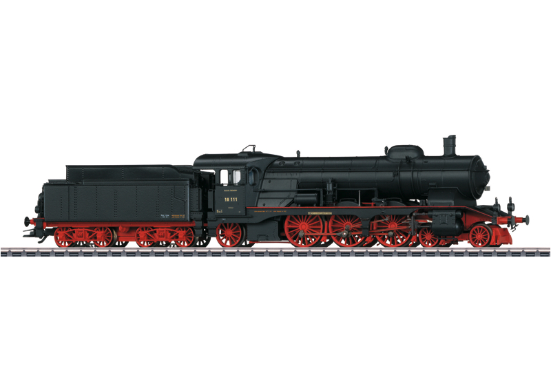 Märklin H0 37117 BR 18.1 höyryveturi - steam locomotive