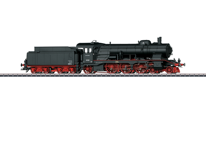 Märklin H0 37119 BR 18.1 höyryveturi - steam locomotive