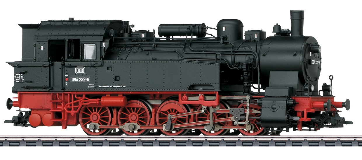 Märklin H0 37180 BR 094 höyryveturi - steam locomotive