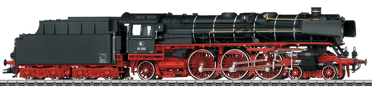 Märklin H0 39005 BR 01 202 höyryveturi - steam locomotive