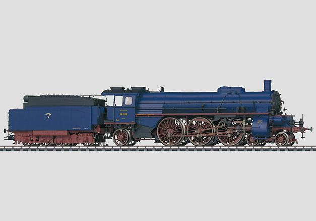 Märklin H0 39023 BR 18.3 höyryveturi - steam locomotive