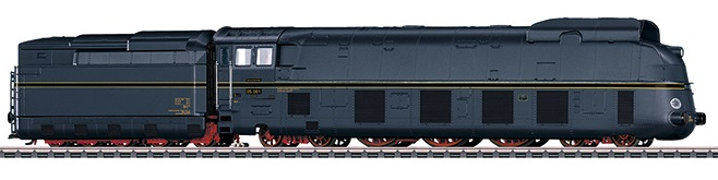 Märklin H0 39058 BR 05 001 höyryveturi - streamlined steam locomotive