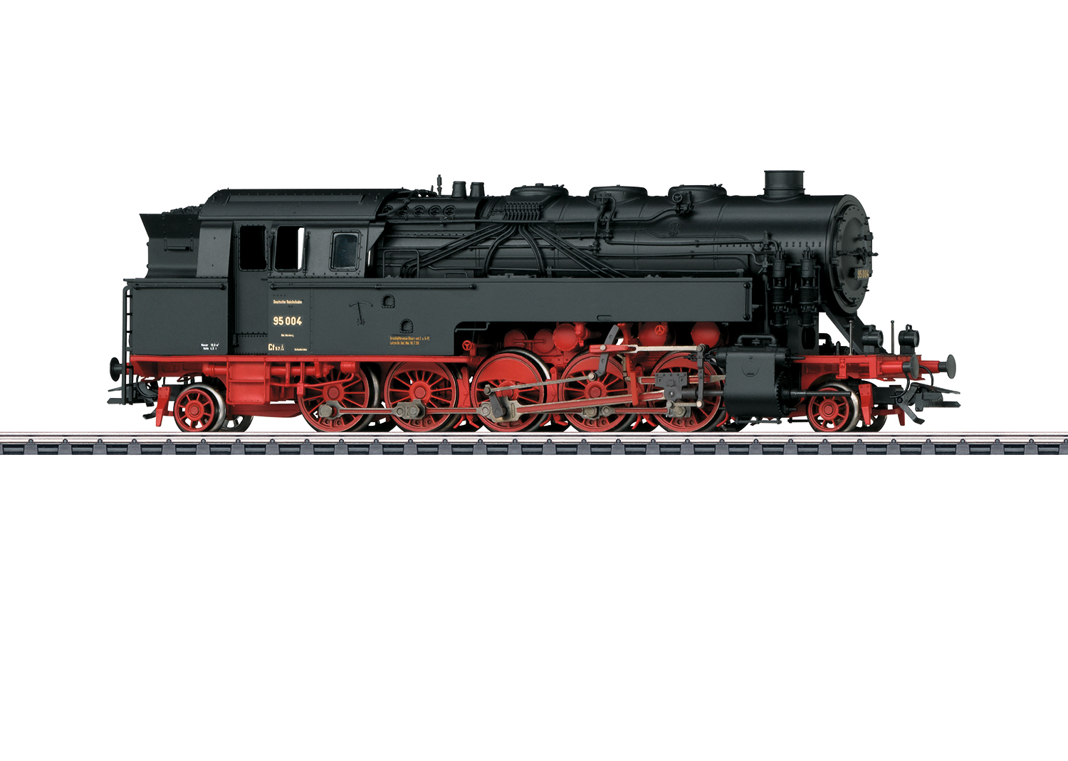 Märklin H0 39098 BR 95 004 höyryveturi - steam locomotive