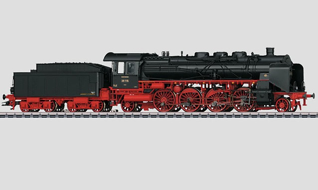 Märklin H0 39392 BR 39.0-2 höyryveturi - steam locomotive