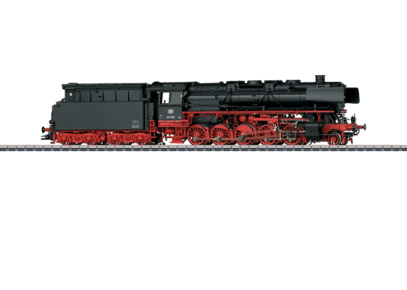 Märklin H0 39882 BR 44 1746 höyryveturi - steam locomotive