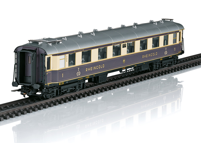 Märklin 26928 H0 Rheingold 1928 6-osainen matkustajajuna - 6 part passenger train set
