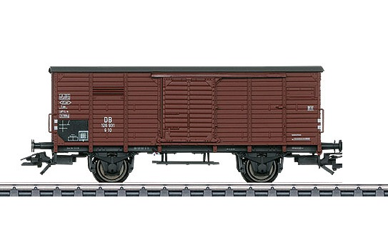 Märklin H0 46089-02 G 10 tavaravaunu - box car
