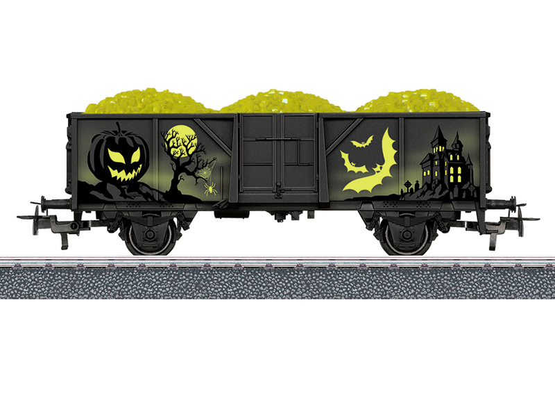 Märklin H0 44232 Start Up Halloween malmivaunu ore car