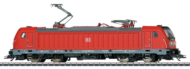 Märklin 36637 BR 147 sähköveturi - electric locomotive