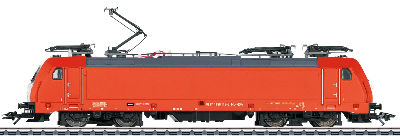 Märklin 36639 BR E 186 sähköveturi - electric locomotive