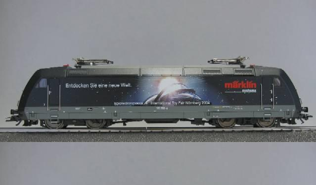Märklin 37386 BR 101 sähköveturi - electric locomotive