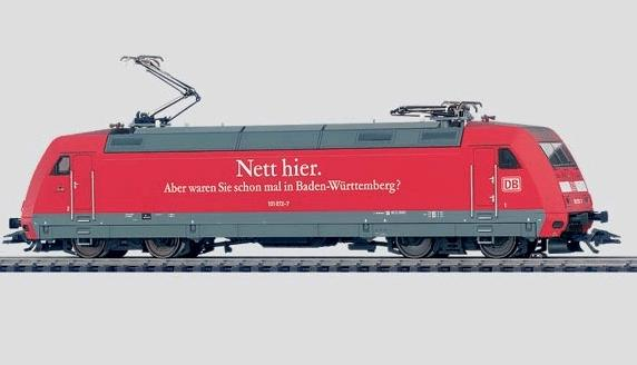 Märklin 37394 BR 101 sähköveturi - electric locomotive