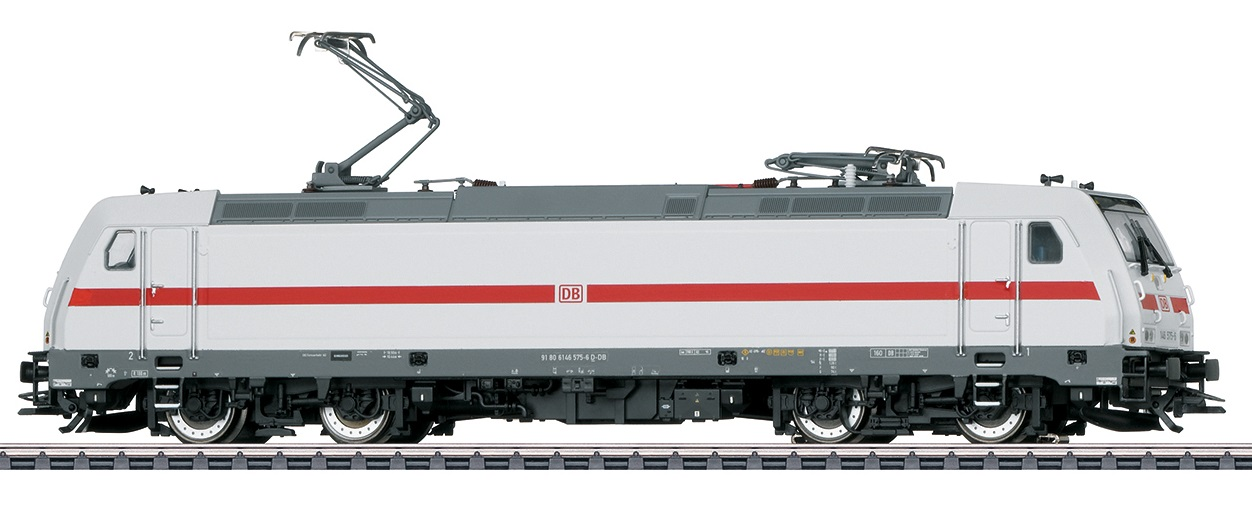 Märklin 37447 BR 146.5 575-6 sähköveturi - electric locomotive