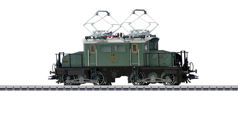 Märklin 37484 BR 117 sähköveturi - electric locomotive