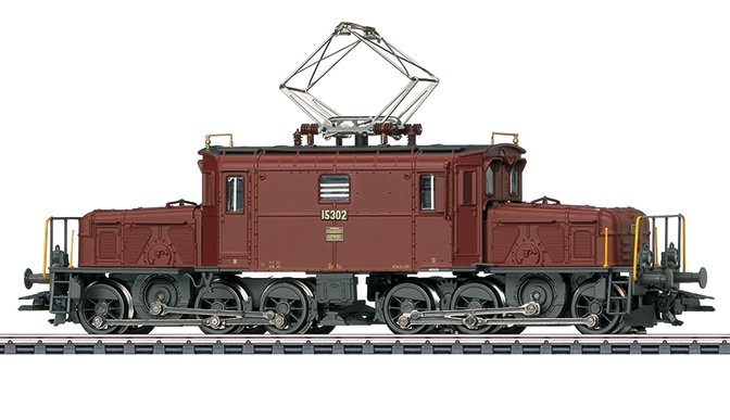Märklin 37511 De 5/5 sähköveturi - electric locomotive