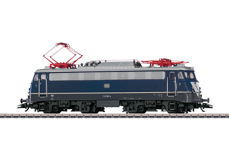 Märklin 39124 BR 110.3 sähköveturi - electric locomotive