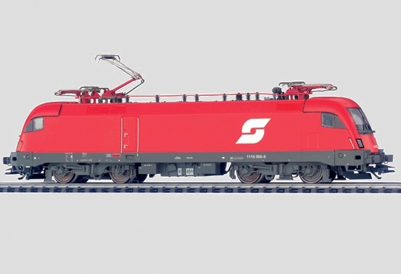 Märklin 39358 Re 1116 sähköveturi - electric locomotive