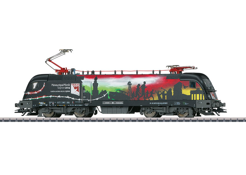 Märklin 39844 ES64U2 Taurus sähköveturi - electric locomotive