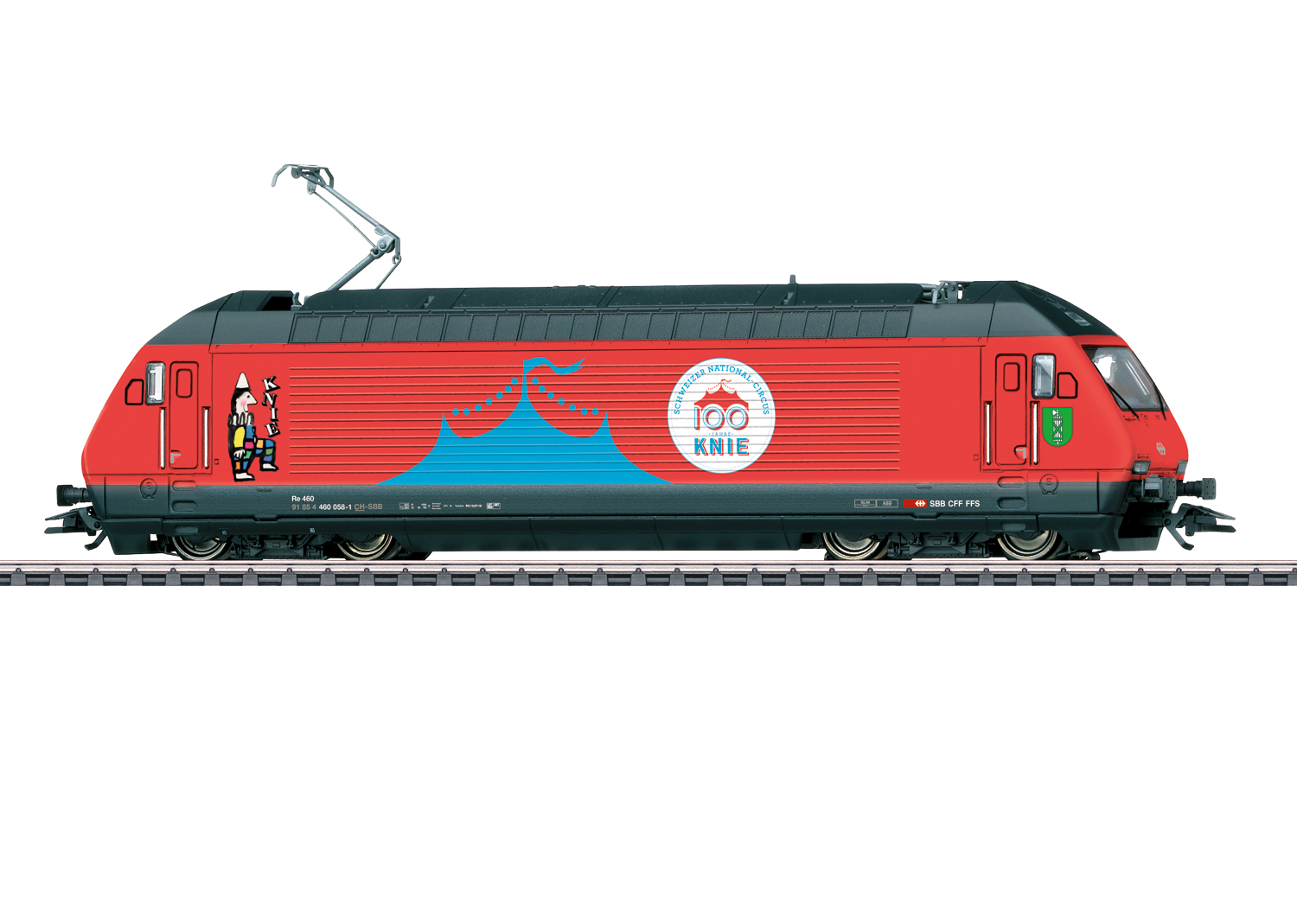 Märklin 39468 Re 460 sähköveturi - electric locomotive