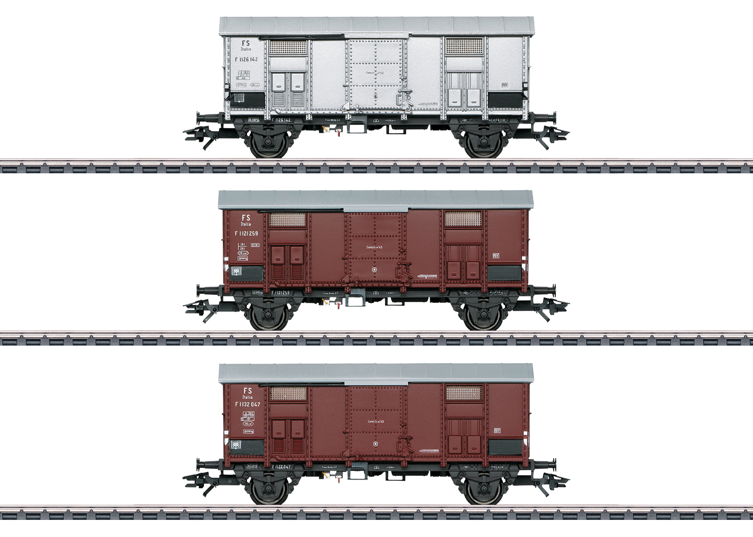 Märklin 47870 H0 tavaravaunusarja - box car set
