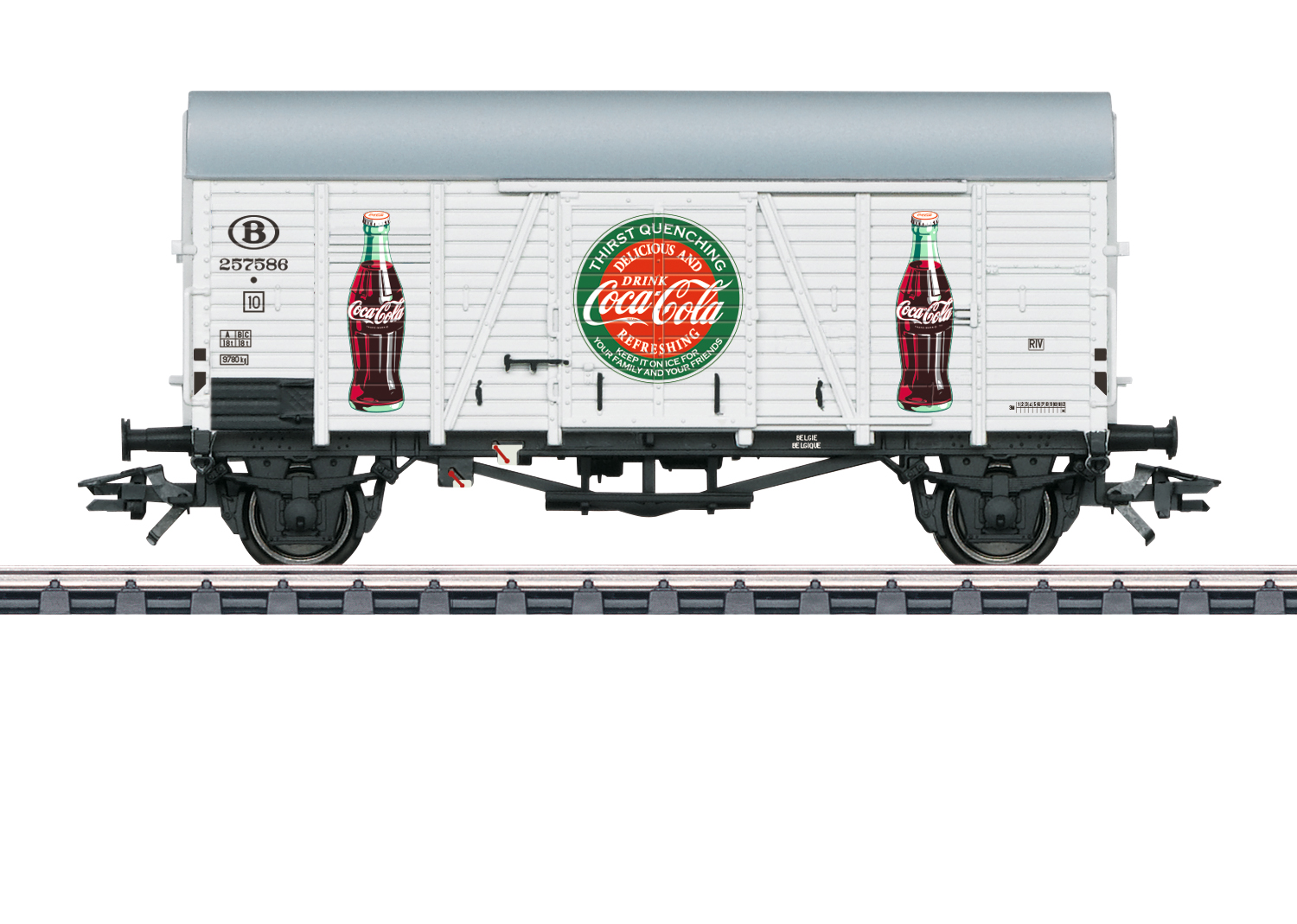 Märklin H0 48833 Coca Cola -konttivaunu - container car