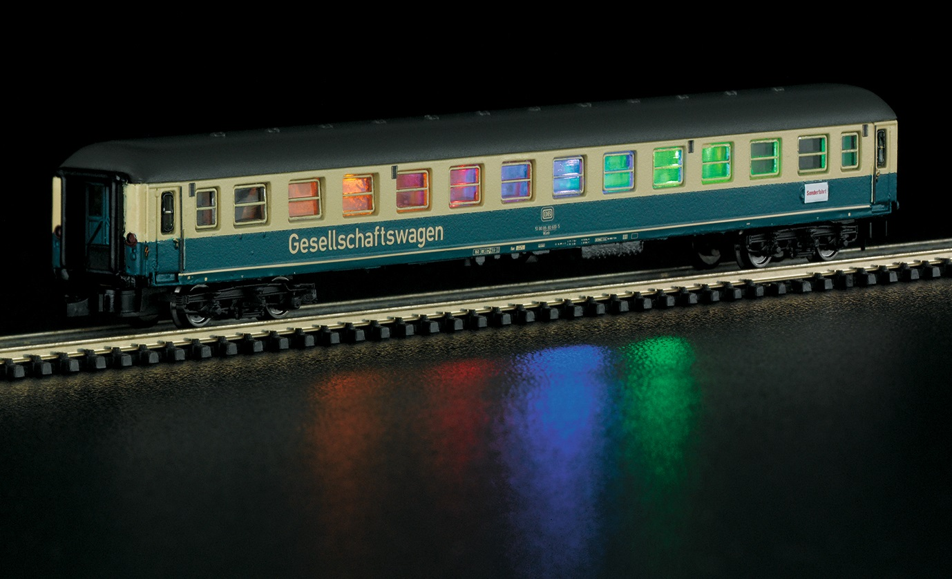 Märklin Z 87210 viihdevaunu - entertainment car