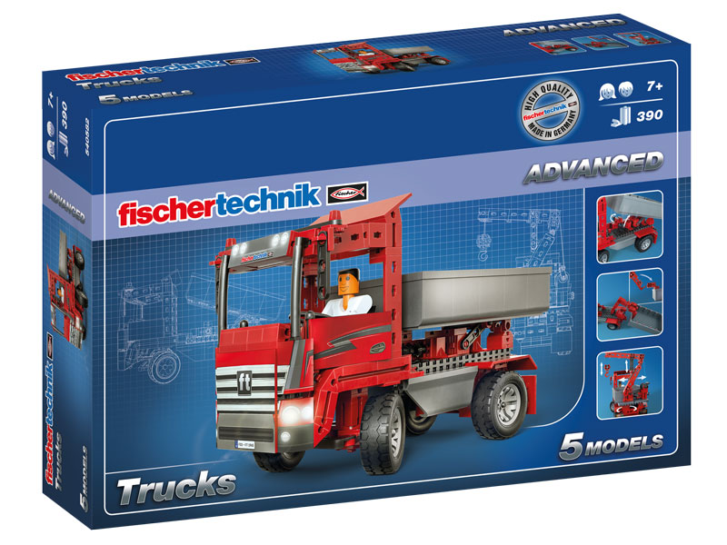 fischertechnik_540582 advanced trucks