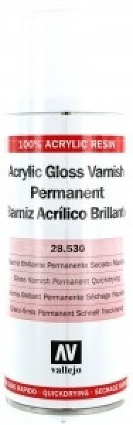Acrylicos Vallejo Gloss Spray Varnish