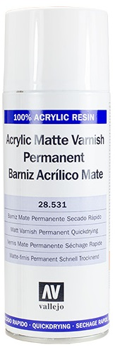 Acrylicos Vallejo Matt Spray Varnish