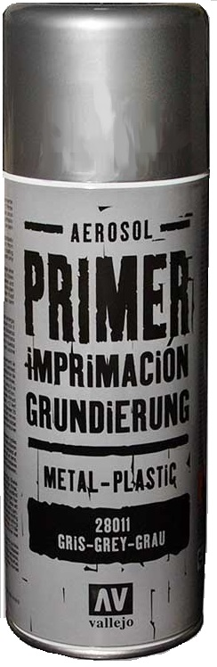 Acrylicos Vallejo Surface Primer Spray - Grey