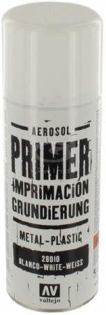 Acrylicos Vallejo Surface Primer Spray - White