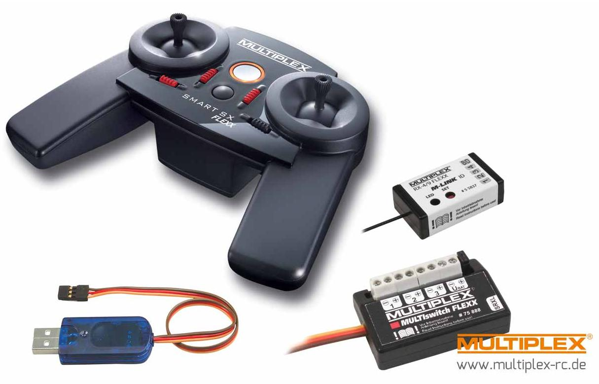 Multiplex 15309 Smart SX 9 FLEXX set FUNKTION