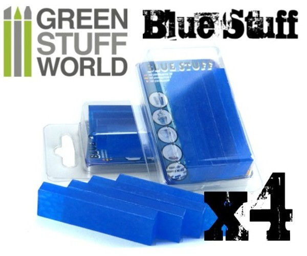 9015 Green Stuff World Blue Stuff 4 harkkoa - 4 bars